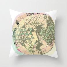 Shape Mesh Throw Pillow