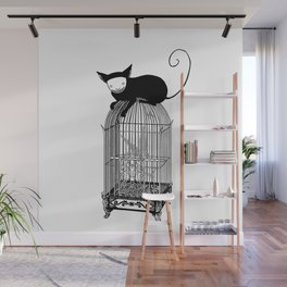 Cages Wall Mural
