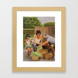 Bodine Road Farm Framed Art Print
