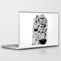 doom Laptop & iPad Skins featuring KIDS DOOM by WASTED RITA