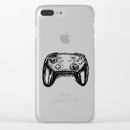 Pro Controller Clear iPhone Case