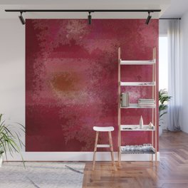 Pink and Red Moon Wall Mural
