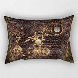 Steampunk, gallant design Rectangular Pillow