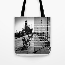 Jours heureux (happy days)  Tote Bag