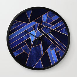 Blue Night Wall Clock