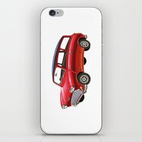 mini iPhone & iPod Skins featuring Mini by Sousuke Chihara