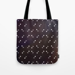 Small Galaxy Fish Bones Tote Bag