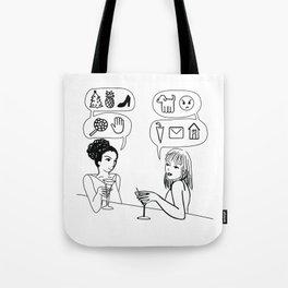 You Speak Excellent Emoji Tote Bag