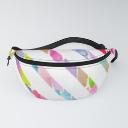Colorful Rainbow Stripes Fanny Pack