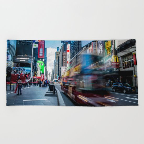 New York, New York Beach Towel