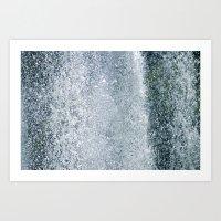Dancing Water IV Art Print