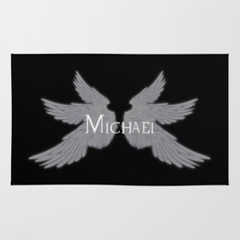 Archangel Michael with Wings Rug