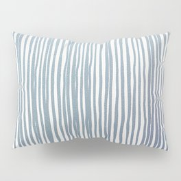 Coming up metallic stripes Pillow Sham