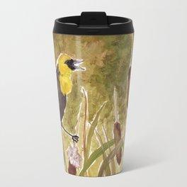 Yellow Headed Blackbird Travel Mug
