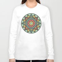 aztec Long Sleeve T-shirts featuring Aztec by Phlauder