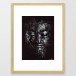 lightfooted Framed Art Print