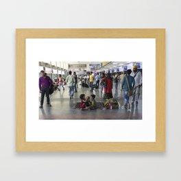Delhi Central bambinos Framed Art Print