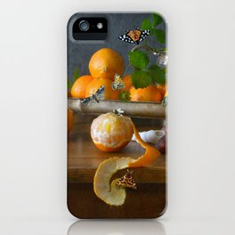 Still Life with Clementines iPhone Case