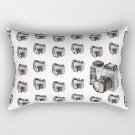 Paper Camera Rectangular Pillow