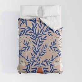 Leopard Vase Duvet Cover