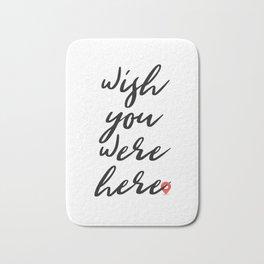 Wish you were here - Floyd Pink Bath Mat