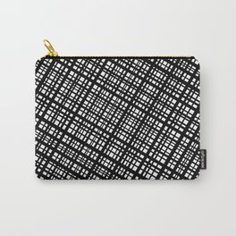 The Bauhaus Grid, diagonal pattern Carry-All Pouch
