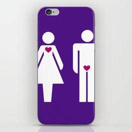 Men & Women iPhone Skin