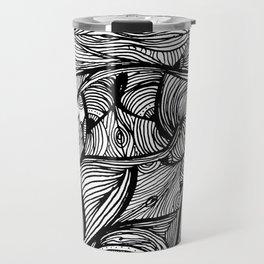 BODY OF WATER. Travel Mug