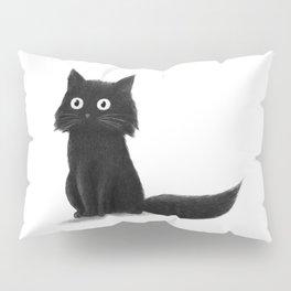 Sitting Cat (mono) Pillow Sham