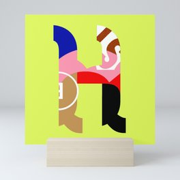 H Mini Art Print