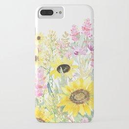 Summer Garden (Sunflower Passion) iPhone Case