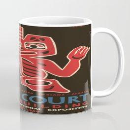 Vintage poster - Indian Court Federal Buildinng Coffee Mug