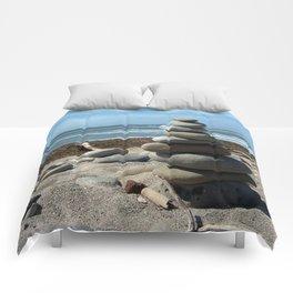 Beach Tower Comforters