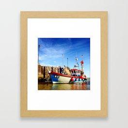 Broadstairs Harbour Framed Art Print