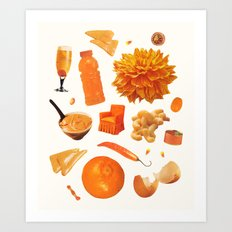 ORANGE II Art Print