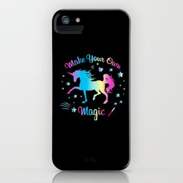 Make Your Own Magic 2 iPhone Case