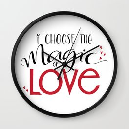 Magic of Love Wall Clock