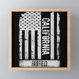 Fairfield California Framed Mini Art Print