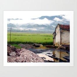 Dien Bien Fu, Vietnam Art Print