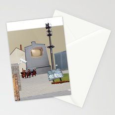 unreal-illusion city collage 13 Stationery Cards