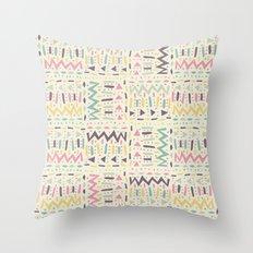 Crème Throw Pillow