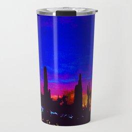 Sunset in Phoenix, Arizona Travel Mug