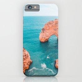 Surf and Swells | Portugal travel & roadtrip landscape - Fine Art Print colorful 2 iPhone Case