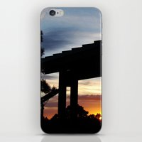 cabin iPhone & iPod Skins featuring Cabin by D. Gopal