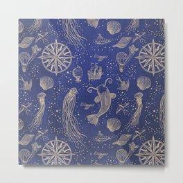 Ocean Meets Sky - Hardcase Metal Print