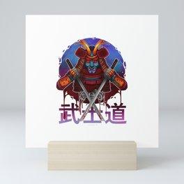 Mens Japanese Samurai Warrior Katana Sword T-Shirt Mini Art Print