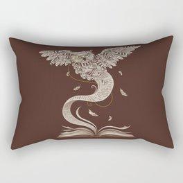 Flow of Wisdom Rectangular Pillow