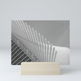 Milwaukee II by CALATRAVA Architect Mini Art Print