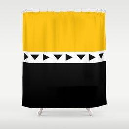 Orangeublack? Shower Curtain