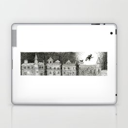 Witch in Full Moon Laptop & iPad Skin